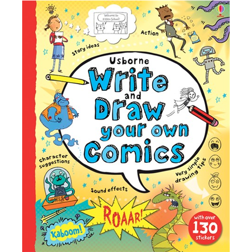 Usborne Write & Draw Your Own Comics