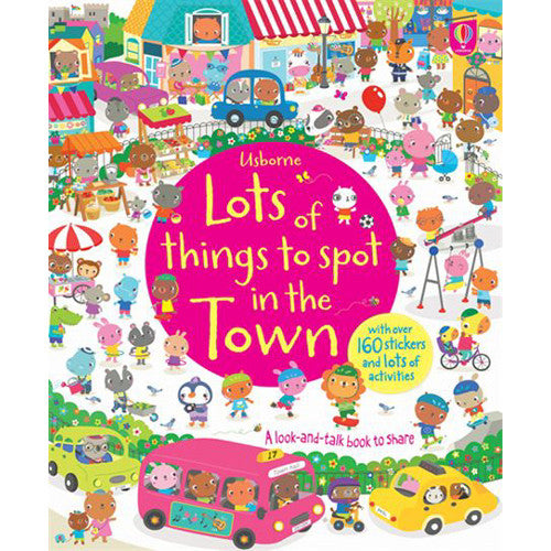 Usborne Lots of Things to Spot in the To