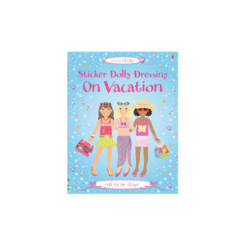 Usborne Sticker Dolly On Vacation