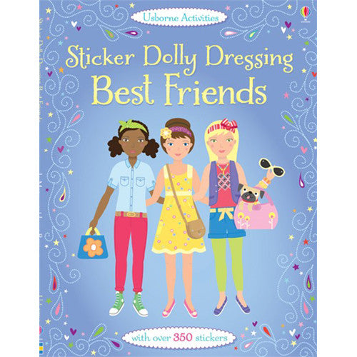 Usborne Sticker Dressing Best Friends