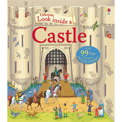 Usborne Look Inside Castle