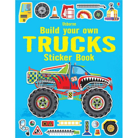 Usborne Build Your Own Trucks Sticker Bo