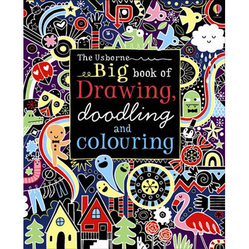 Usborne Big Book Drawin/gDoodling/Color