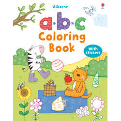 Usborne A-B-C Coloring Book