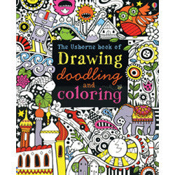 Usborne Drawing, Doodling & Coloring