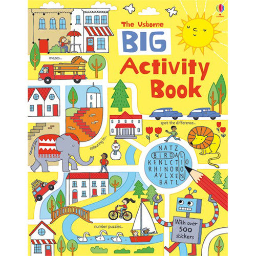 Usborne Big Book Activity Book