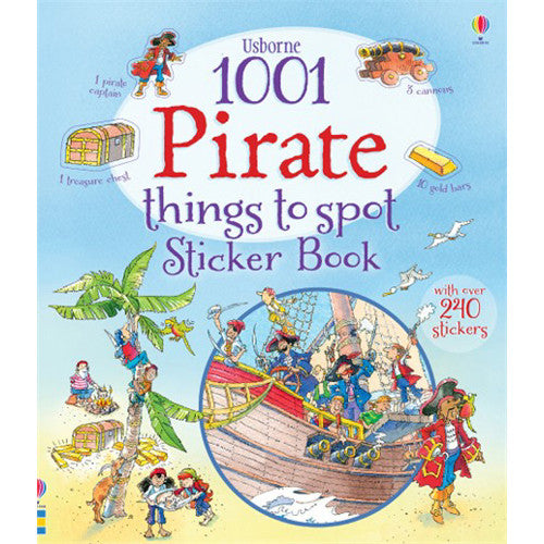 Usborne 1001 Pirate Things to Spot Stick