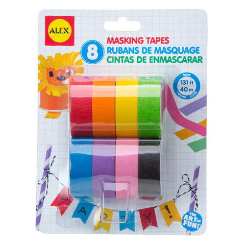 Alex 8 Masking Tapes
