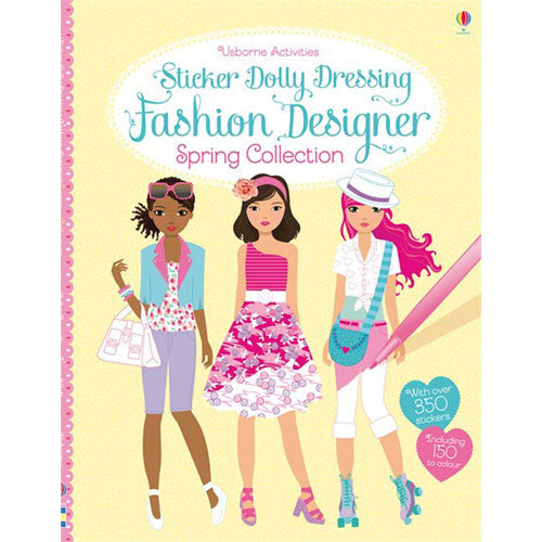 Usborne Sticker Dolly Fashion Designer