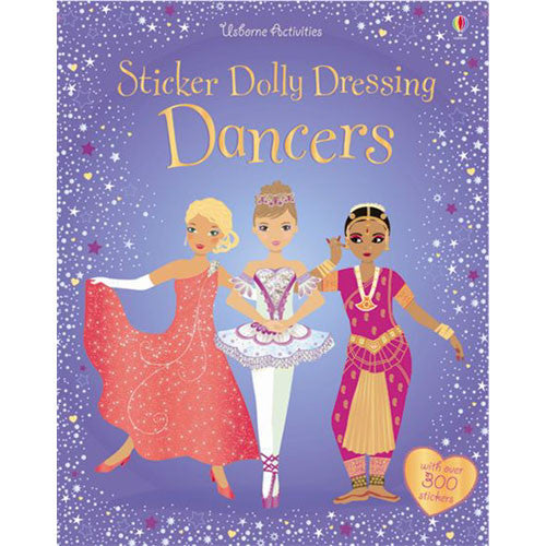Usborne Sticker Dolly Dressing Dancers