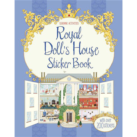 Usborne Royal Dollhouse Sticker Book