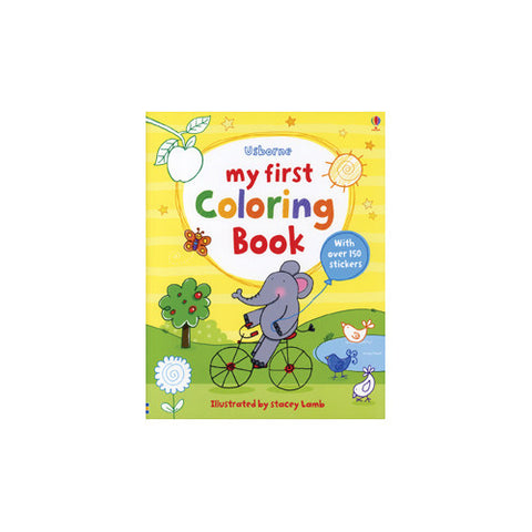 Usborne My First Coloring Book