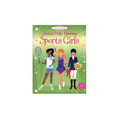 Usborne Sticker Dolly Dresssing Sports