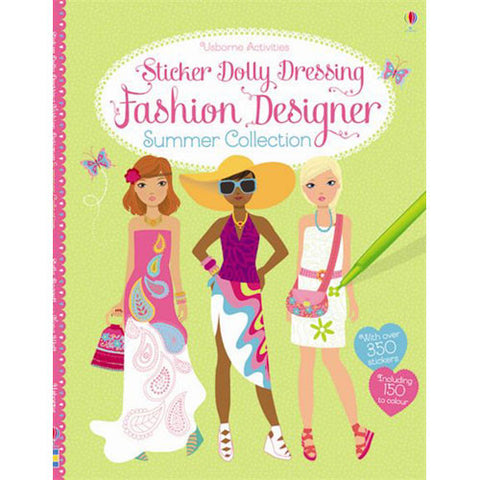 Usborne Sticker Dolly Dressing Fashion D