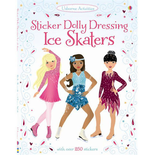 Usborne Sticker Dolly Ice Skaters
