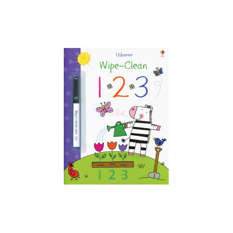 Usborne Wipe Clean 123