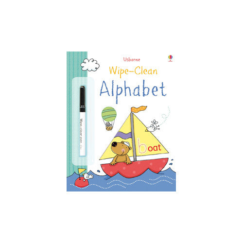 Usborne Wipe Clean Alphabet