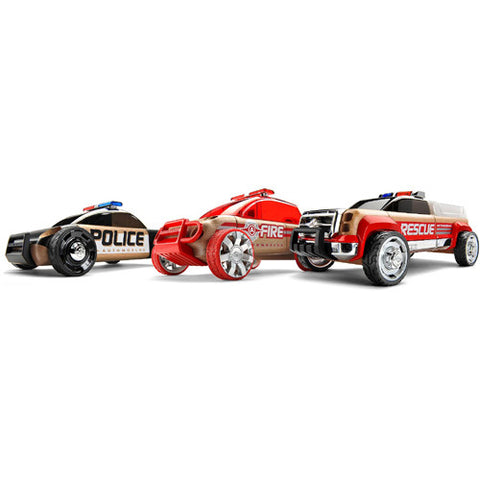 Automoblox Rescue Three Pack