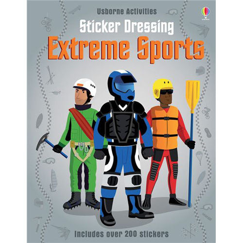 Usborne Sticker Dressing Extreme Sports
