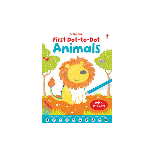 Usborne First Dot to Dot Animals