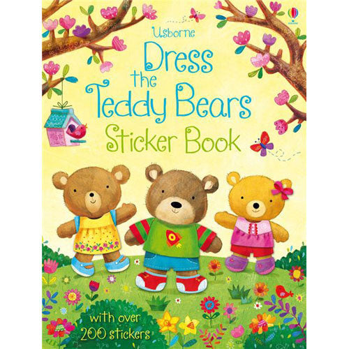 Usborne Dress the Teddy Bears Sticker Bo