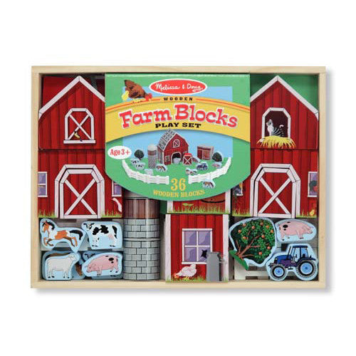 M&D Farm Blocks Play Set