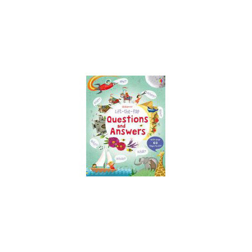 Usborne Lift the Flap QUestions/Answers