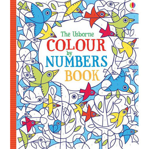 Usborne Color By Numbers Book