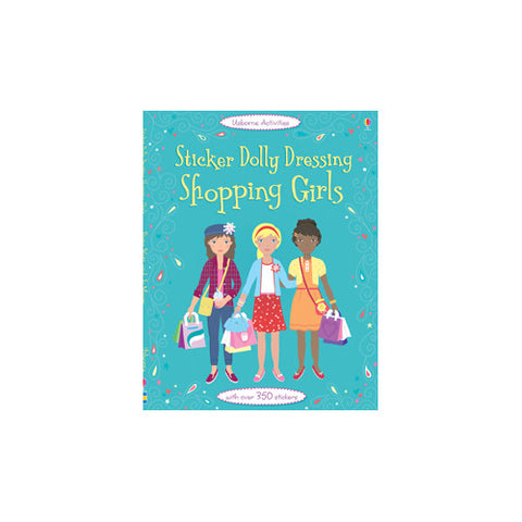 Usborne Sticker Dolly Shopping Girls