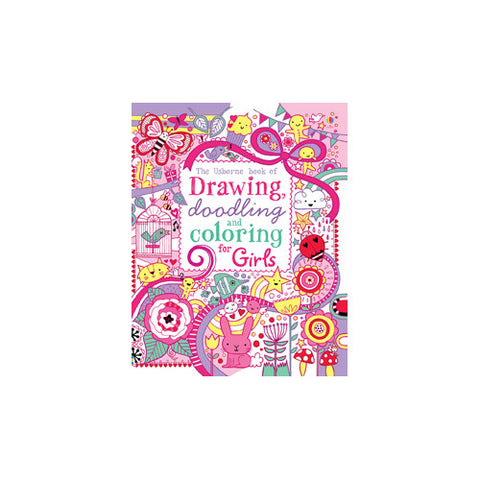 Usborne Drawing and Doodling for Girls