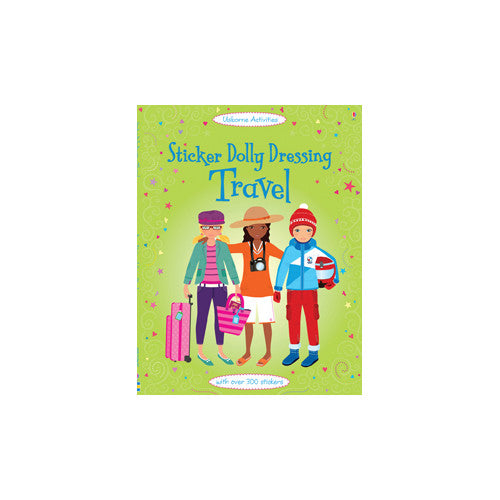 Usborne Sticker Dolly Dressing Travel