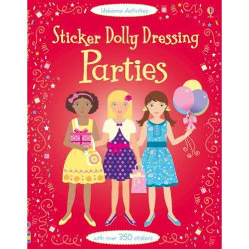 Usborne Sticker Dolly Dressing Parties