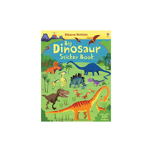 Usborne Big Dinosaur Sticker Book