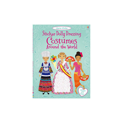 Usborne Sticker Dolly Costume World