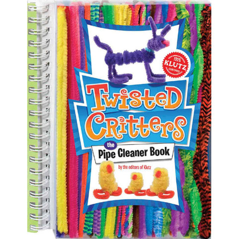 Klutz Twisted Critters Pipe Cleaner Book