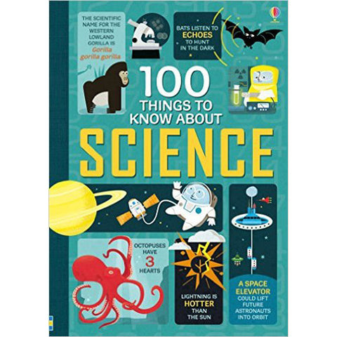 Usborne 100 Things to Know About Science