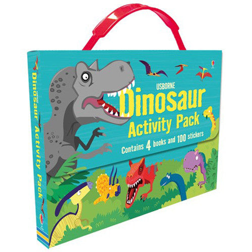 Usborne Dinosaur Activity Pack 4pcs