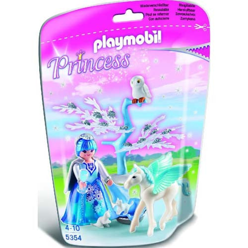 Playmobil Winter Fairy Princess w/Pegasu