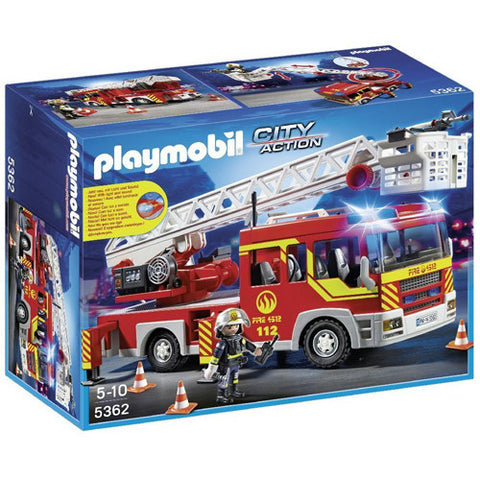 Playmobil Ladder Unit with Lights & Soun