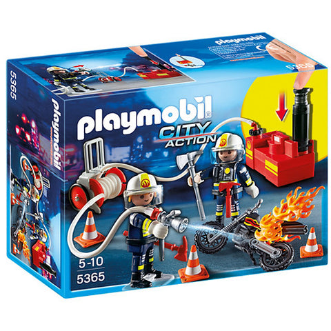 Playmobil Firefighter's with Water Pump