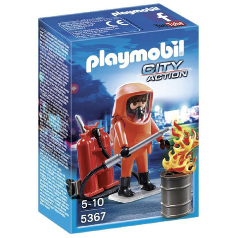 Playmobil Special Forces Firefighter