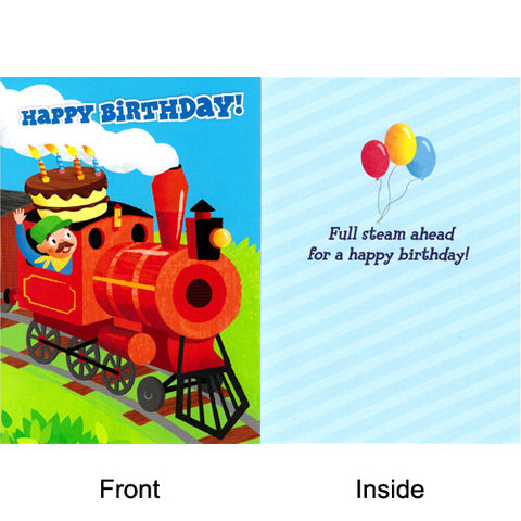 Peaceable Cake On A Train Birthday