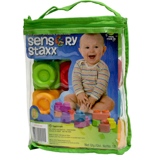 Ball Bounce Sensory Staxx 12pc