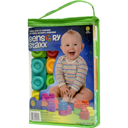 Ball Bounce Sensory Staxx 18pc