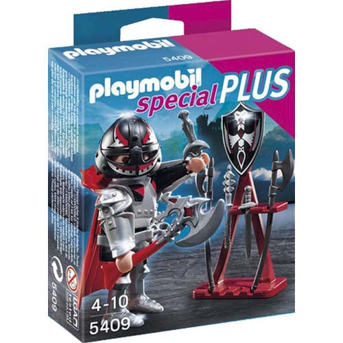 Playmobil Knight with Weapon Stand