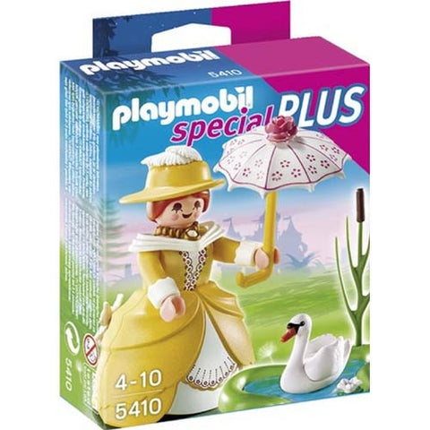 Playmobil Victorian Lady with Pond
