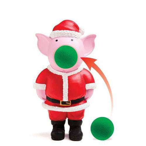 HogWild Pig with Santa Hat Popper