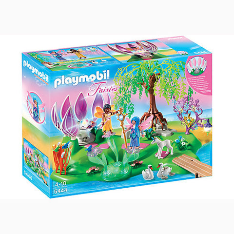 Playmobil Fairy Island w/Jewel Fountain
