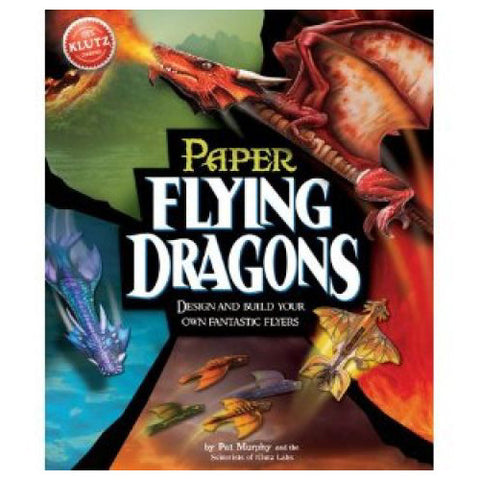 Klutz Paper Flying Dragons Book
