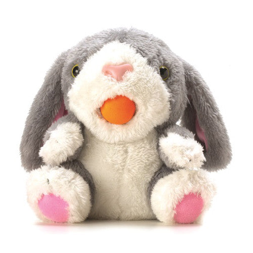 Hog Wild Squeeze Pop Huggable Bunny
